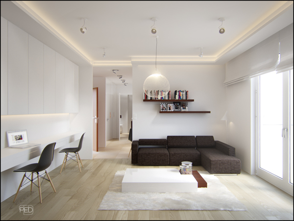 طراحی منازل با متراژ پائین