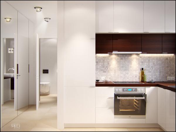 طراحی منازل با متراژ پائین (متراژ کم)