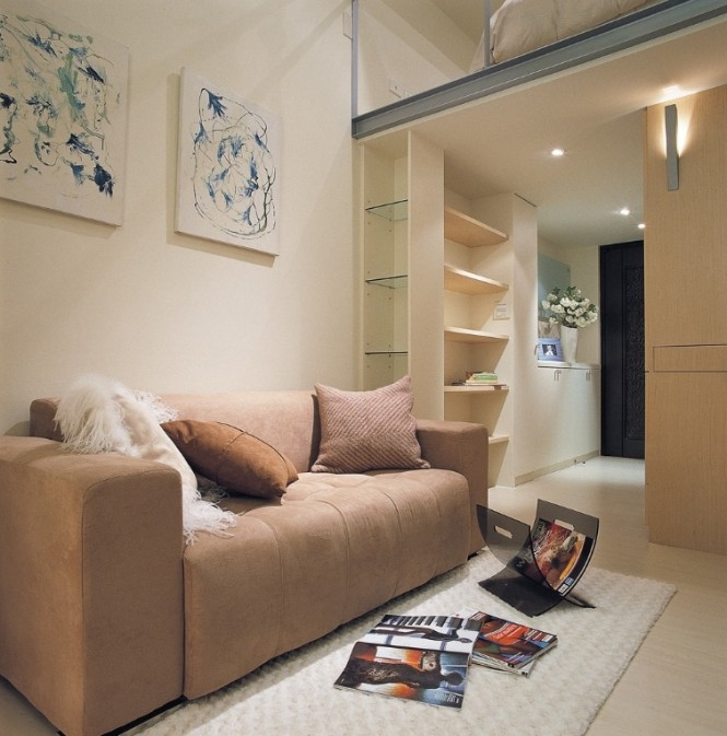 طراحی برای منازل کوچک (با متراژ کم)