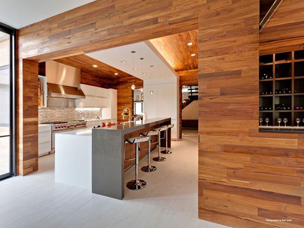 خانه ای با طراحی پایدار (sustainable design )