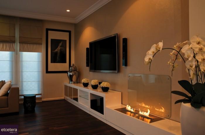شومینه های مدرن در طراحی داخلی