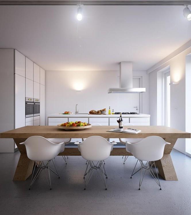 طراحی منزل با پلانهای باز