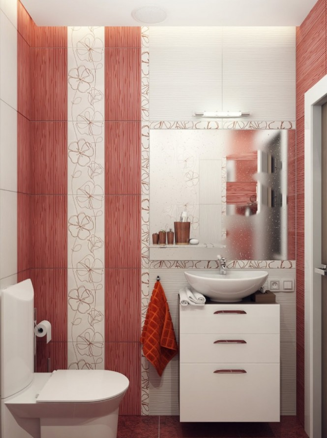 نمونه هایی از طراحی داخلی حمام