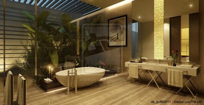 طراحی حمام متفاوت