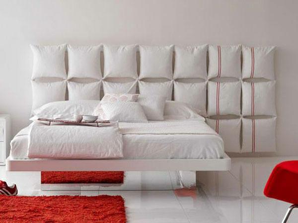 هد بورد در اتاق خواب (دیوار بالای تخت)