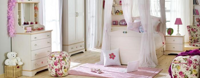 تعداد بیست طرح برای اتاق خواب کودک دختر (شماره 2)