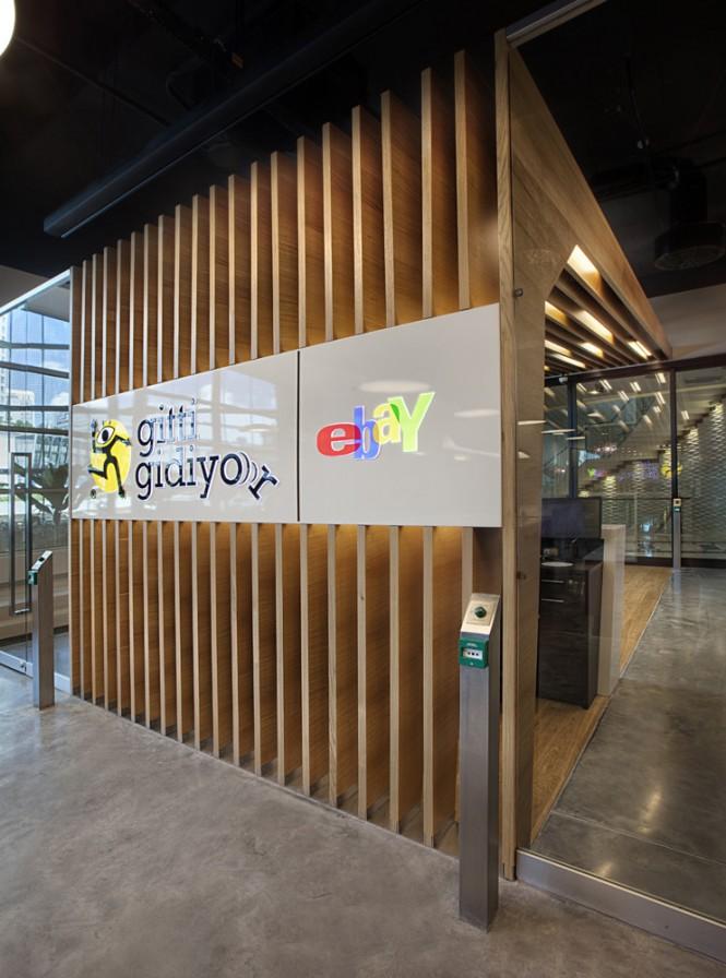 طراحی دفترکار گروه Ebay