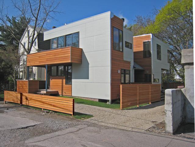 نمونه کار از نمای خارجی ساختمان کم ارتفاع
