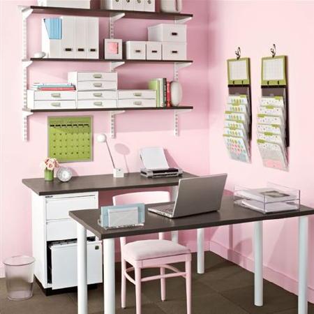 ایده برای طراحی دفترکار خانگی موثر