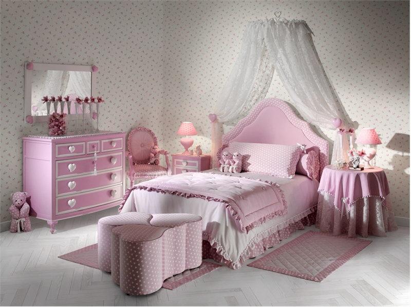 اتاق خواب کلاسیک برای کودکان