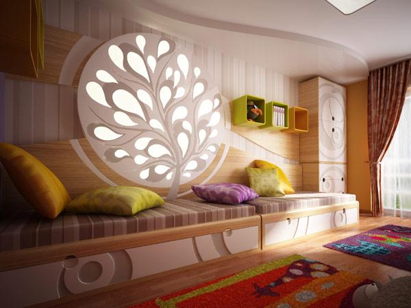 طراحی اتاق کودک و نوجوان