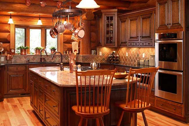 آشپزخانه هایی به سبک روستایی (روستیک)
