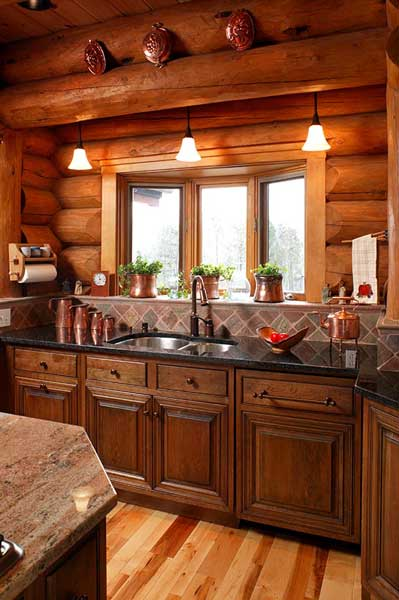 آشپزخانه هایی به سبک روستایی