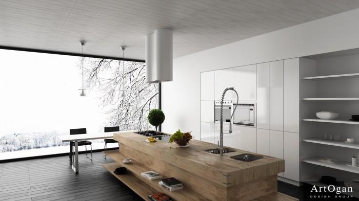 آشپزی در آشپزخانه های مدرن