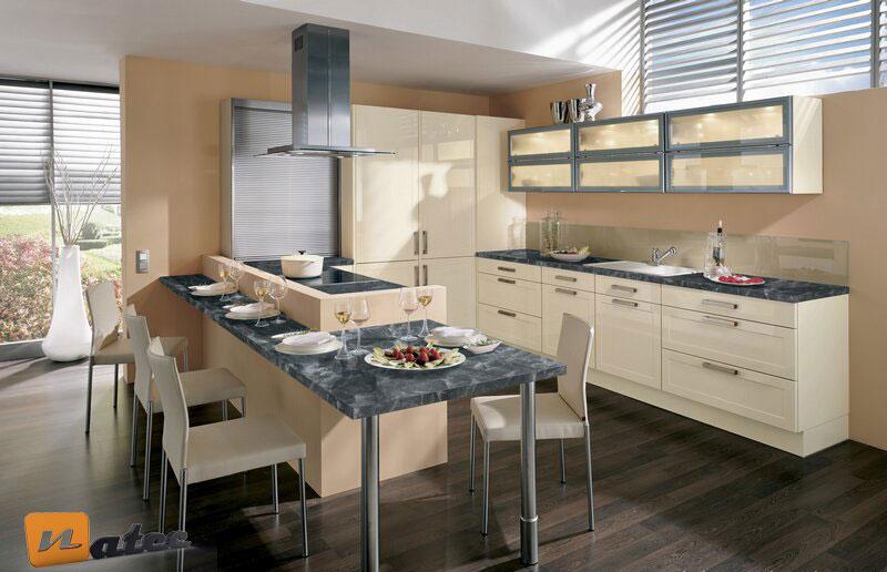 رنگ بندی کرم در آشپزخانه های مدرن