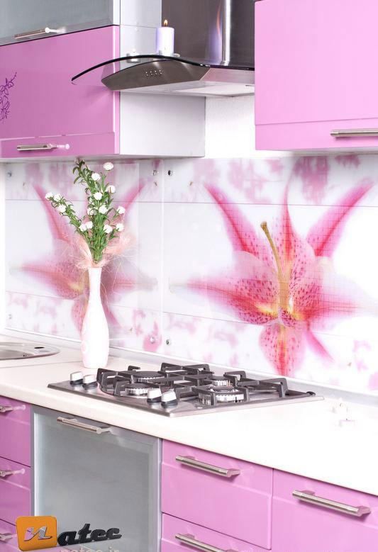 رنگ بندی صورتی در آشپزخانه های معاصر
