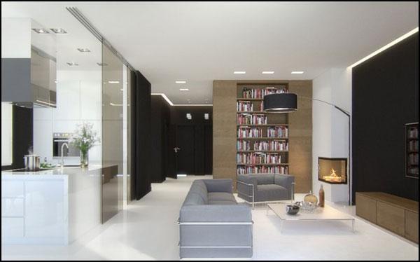 طراحی اتاق نشیمن به سبک کلاسیک اروپایی