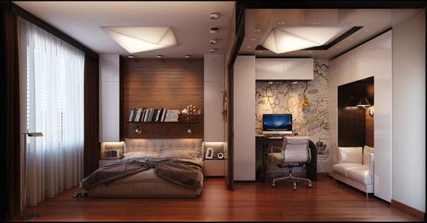 طراحی اتاق خواب به سبک مدرن