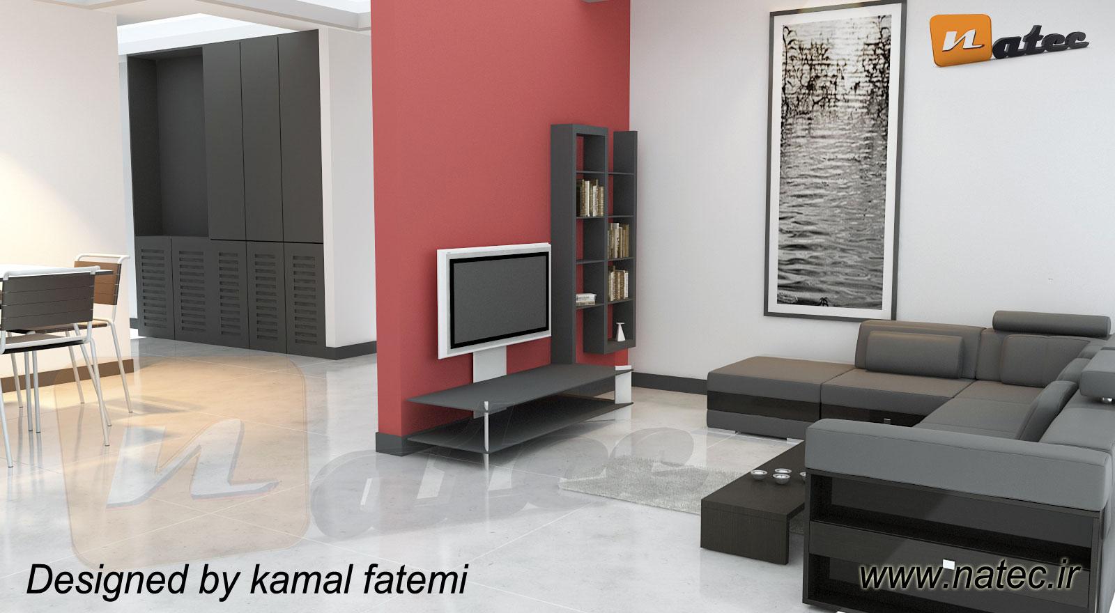طراحی مدرن و مینیمال از گروه ناتک
