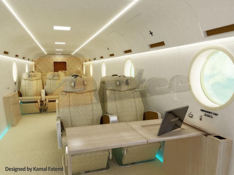 طراحی VIP هلیکوپتر شونوک